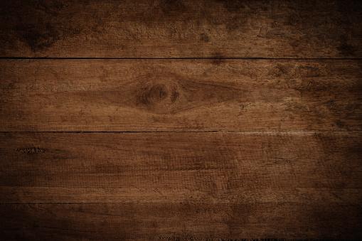 Brown Wood Desk