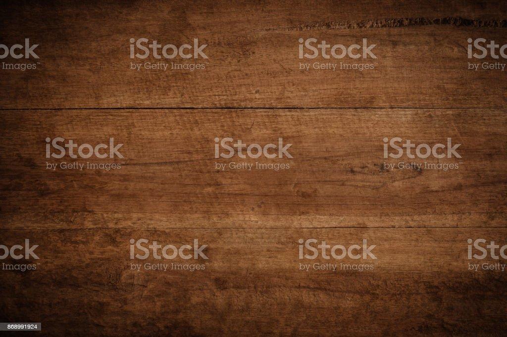 Vieux grunge sombre texture fond en bois, la surface de la texture de bois brune vieux - Photo de Abstrait libre de droits