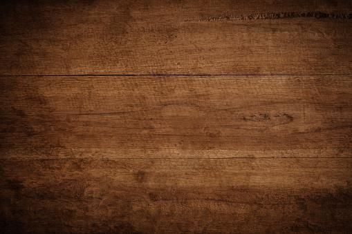Photo libre de droit de Vieux Grunge Sombre Texture Fond En Bois La Surface De La Texture De Bois Brune Vieux banque d'images et plus d'images libres de droit de Abstrait