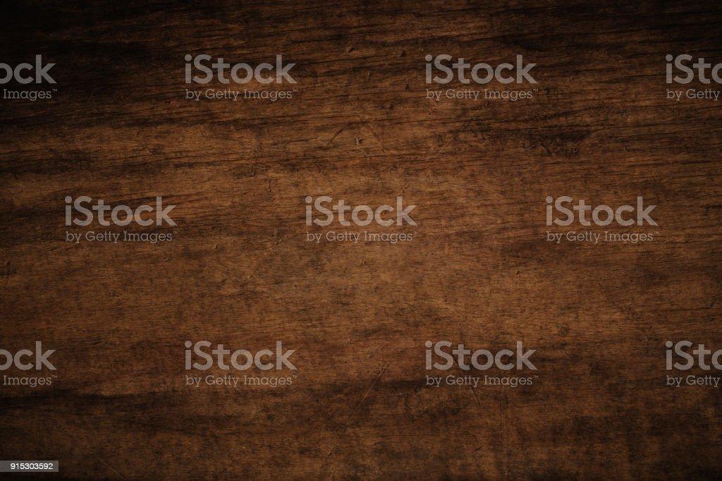 Vieux grunge sombre texture fond en bois, la surface de la texture de bois brune vieux photo libre de droits