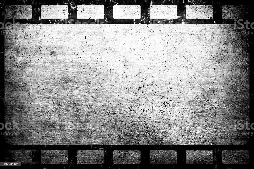 Old grunge film frame vintage background royalty-free stock photo