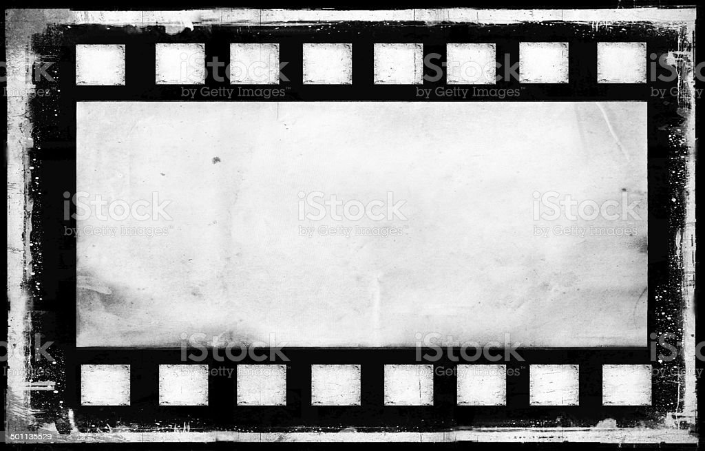 Old Grunge Film Strip Frame Background Stock Photo & More Pictures ...