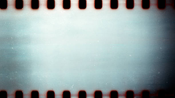 old grunge filmstrip - film industry stock pictures, royalty-free photos & images