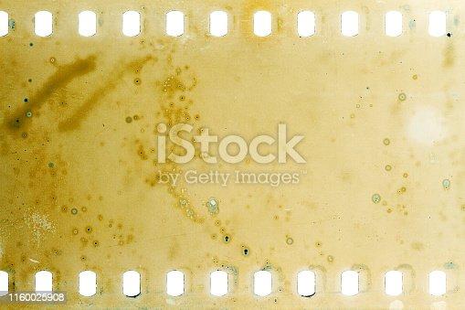 1126727680 istock photo Old grunge filmstrip 1160025908