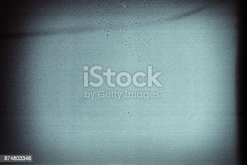istock Old grunge filmstrip 874803346
