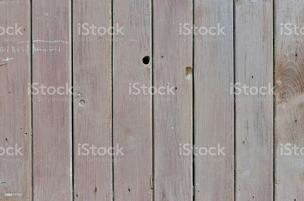 Old grunge hardwood wall closeup for background use royalty-free stock photo