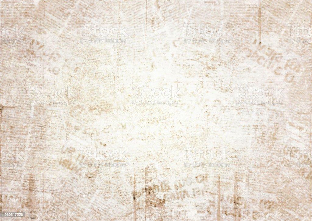 Old Grunge Newspaper Texture Background Stock Photo ...