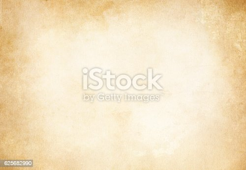 istock Old grunge paper texture or background. 625682990