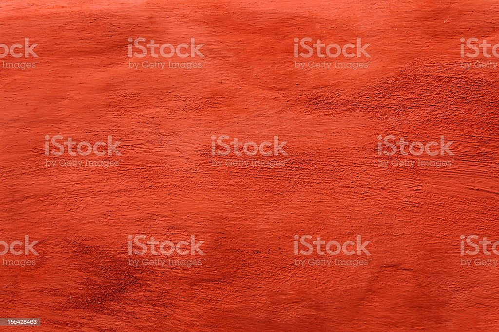 Old grunge red wall texture (XXXL) stock photo