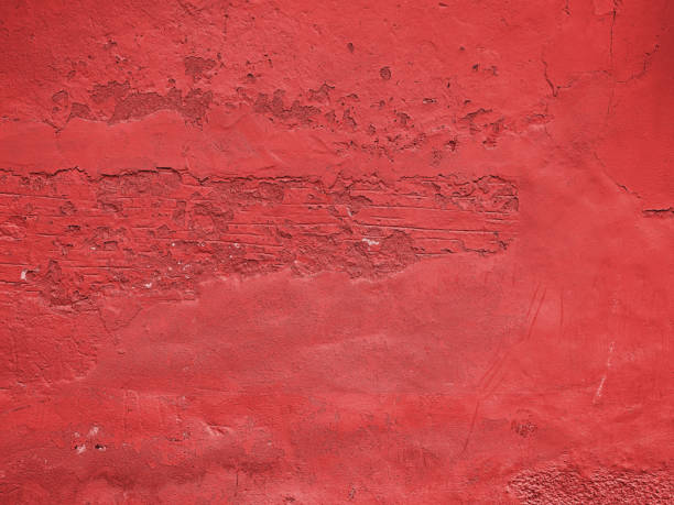 Old grunge reddish wall texture stock photo