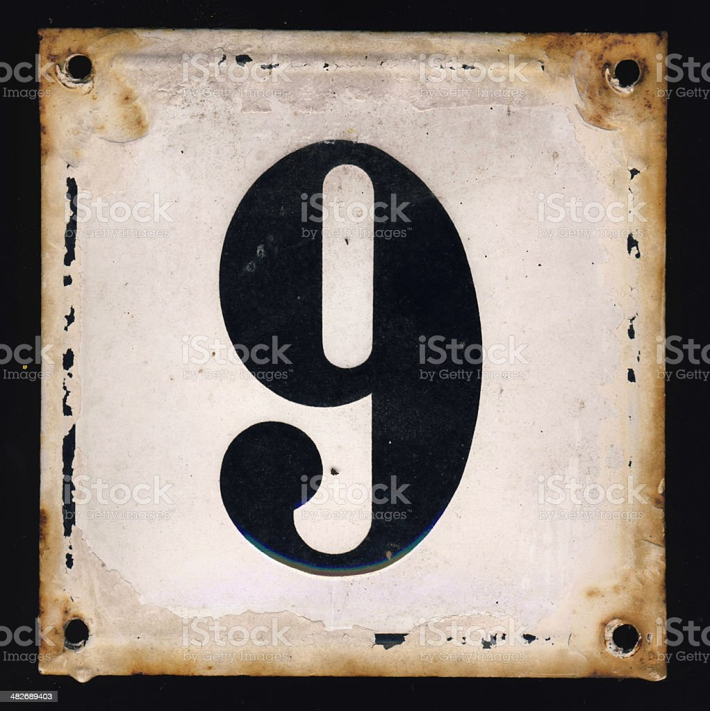 Old grunge sign royalty-free stock photo