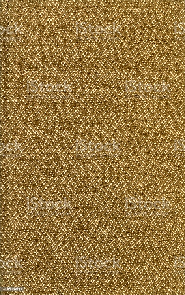 Old grunged fabric,  beige book royalty-free stock photo
