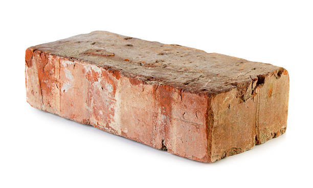 old grungy brick - single object stock pictures, royalty-free photos & images