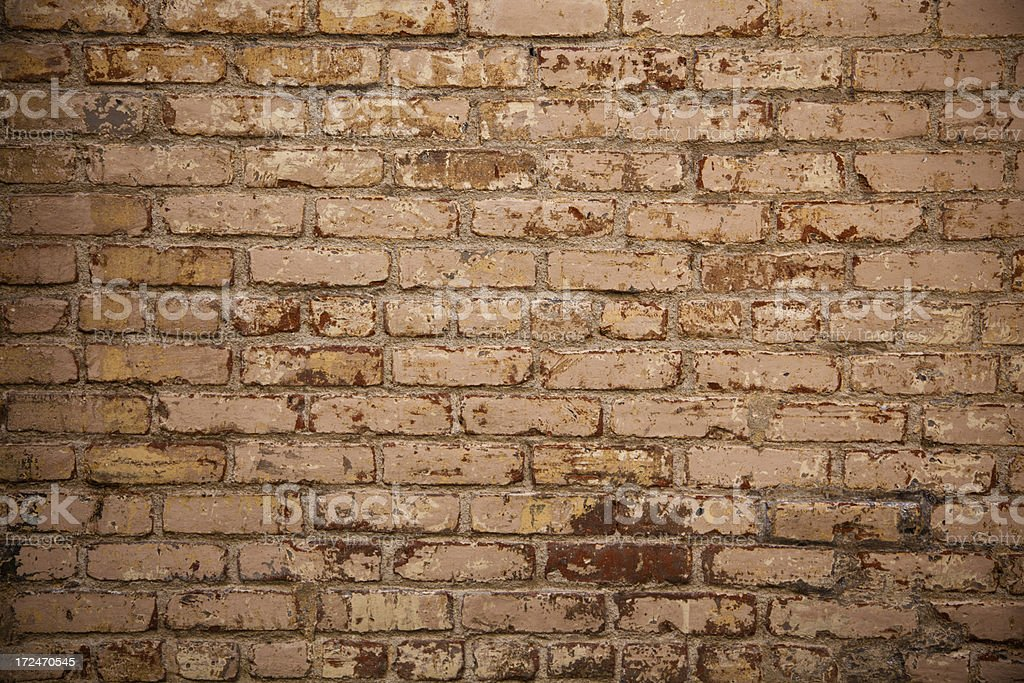 Old Grungy Brick Wall royalty-free stock photo