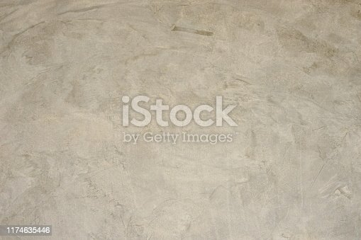 istock Old grungy texture, white grey color concrete cement wall 1174635446