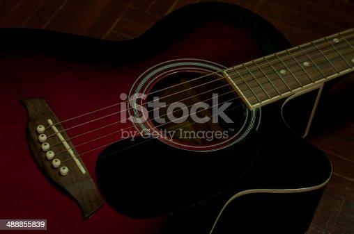 Old guitar.