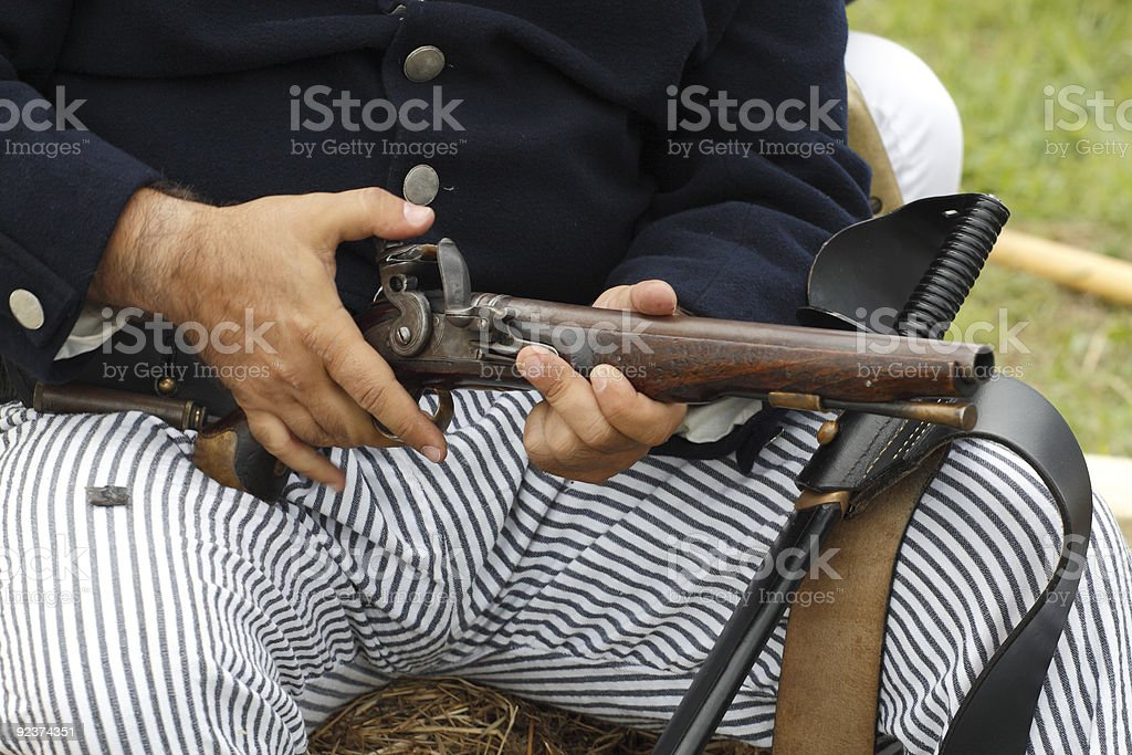 Old gun royalty-free stock photo
