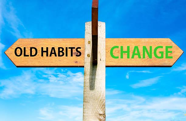 Nachrichten im Vergleich zu alten Gewohnheiten ändern – Foto