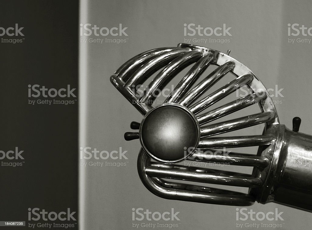 Old Hair-Dryer royalty-free stock photo