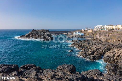 istock Old harbor harbour El Cotillo Fuerteventura  Canary Islands Spain 534829959