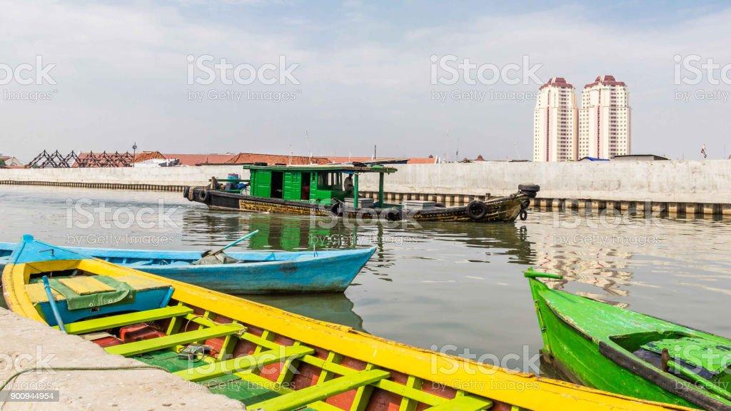 Vieux port de Jakarta, Java, Indonésie - Photo