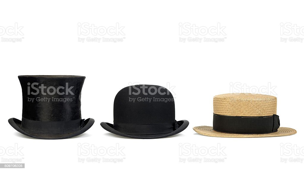 old hat stock photo