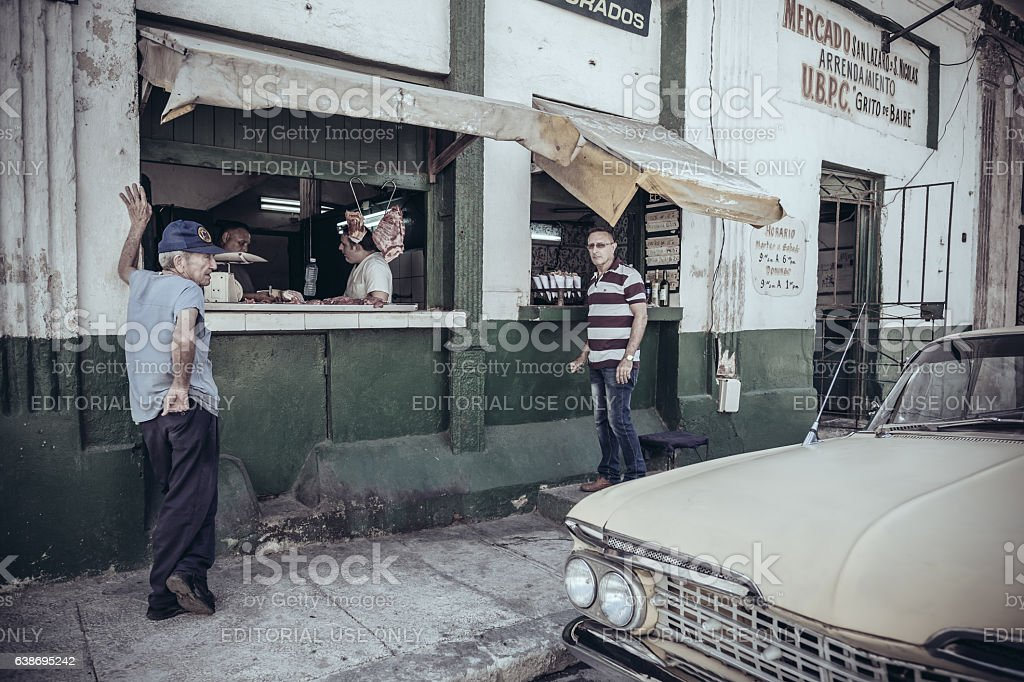 Old Havana Butcher shop – Foto