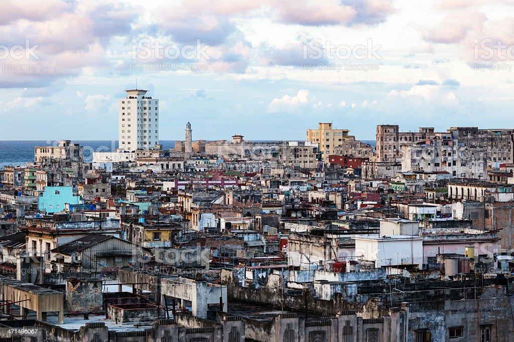 Old Havana royalty-free stock photo