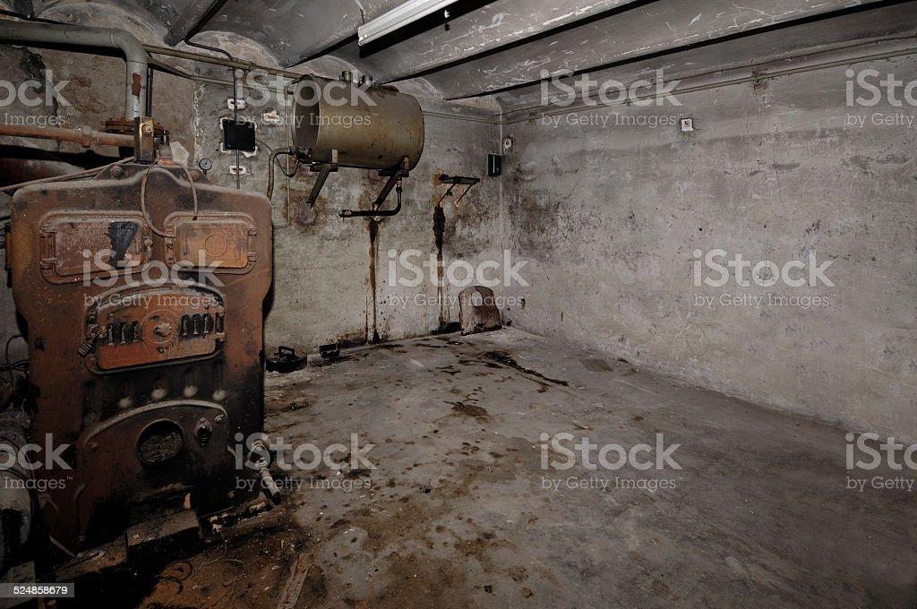 calefaccion vieja stock photo