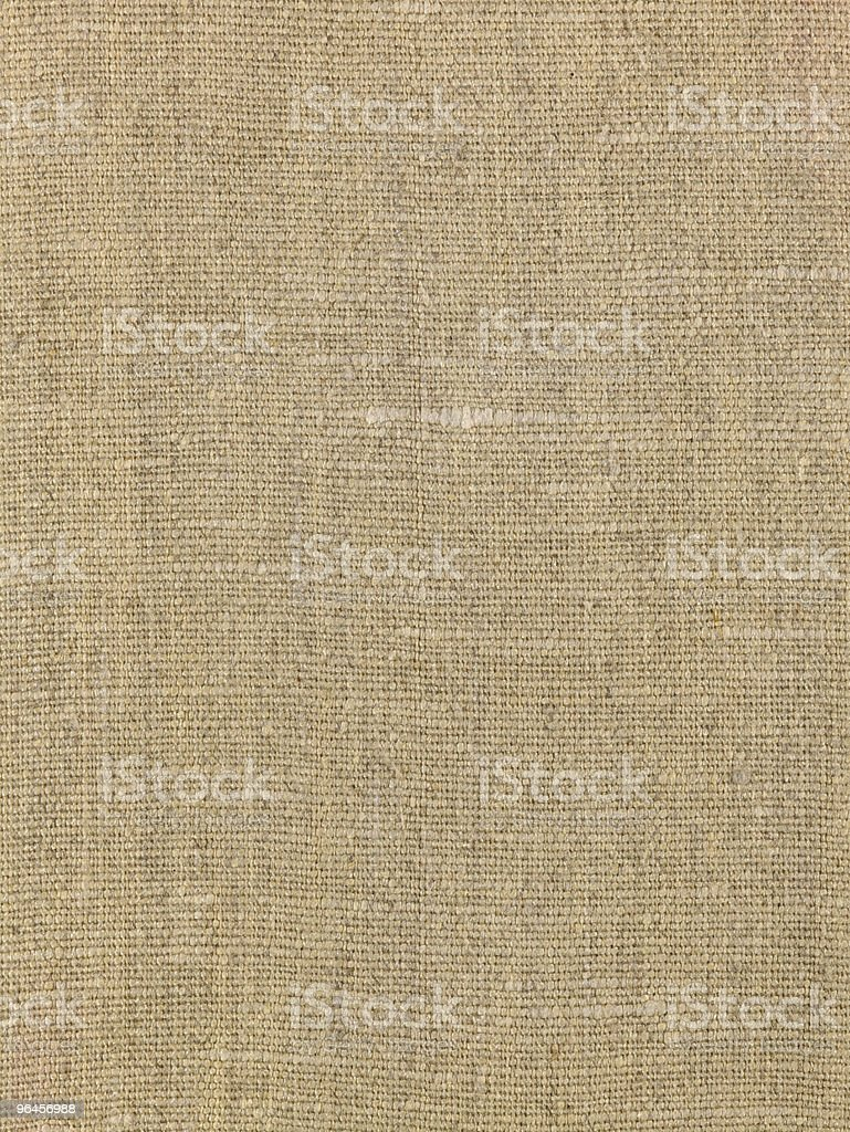 Old hessian, canvas texture as background royalty-free stock photo