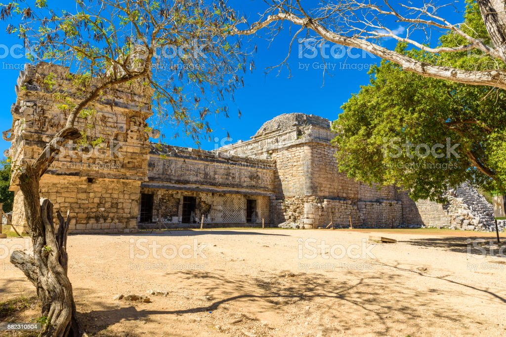 Old historic ruins of Chichen Itza, Yucatan, Mexico