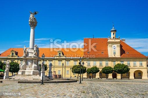 istock Old historic town of Osijek, Croatia 1264612719
