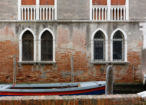 Old Historical Building in Venice