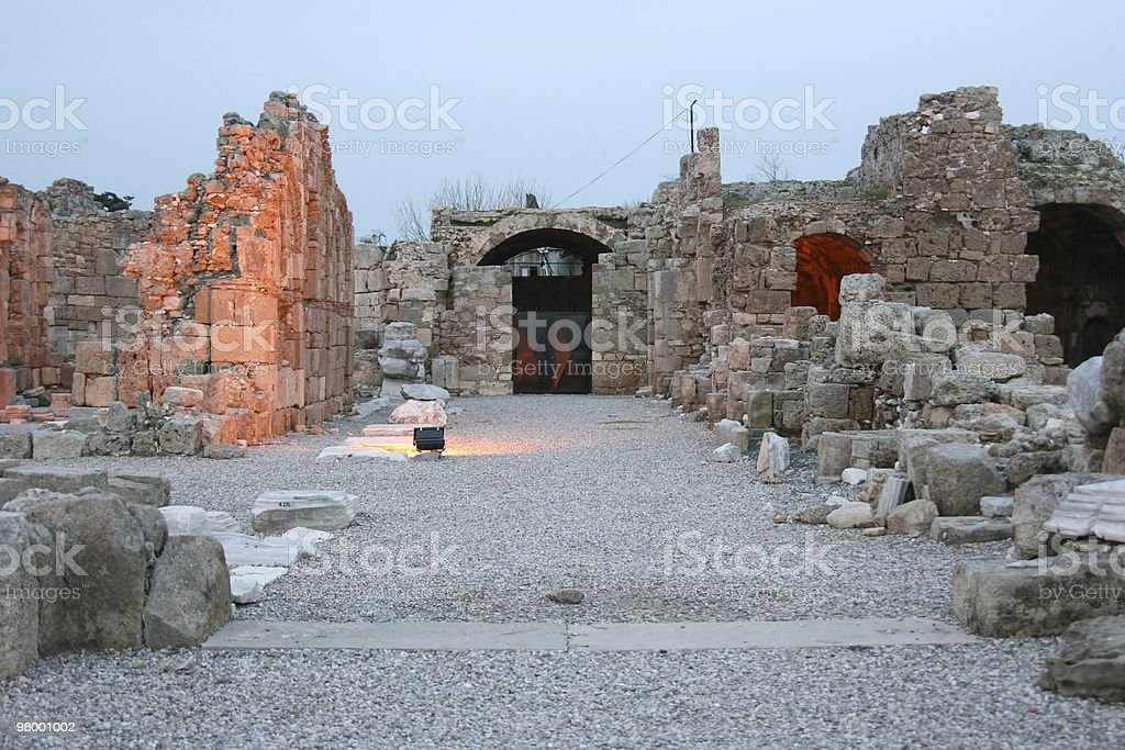 Old historical place in Turkey royalty-free stock photo