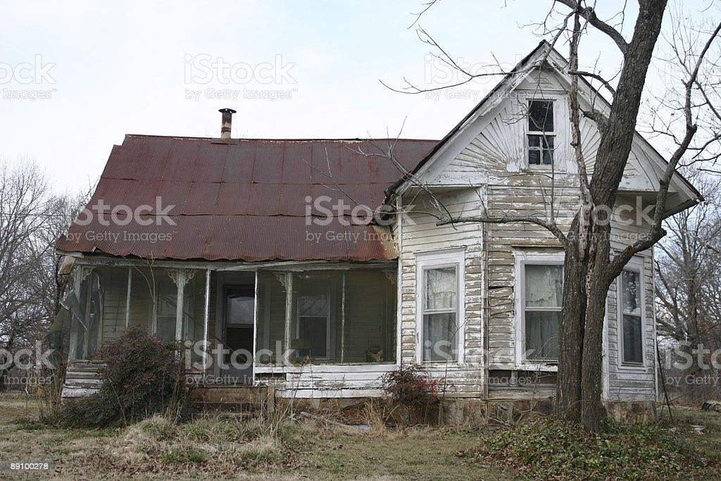 Old Homeplace foto de stock libre de derechos
