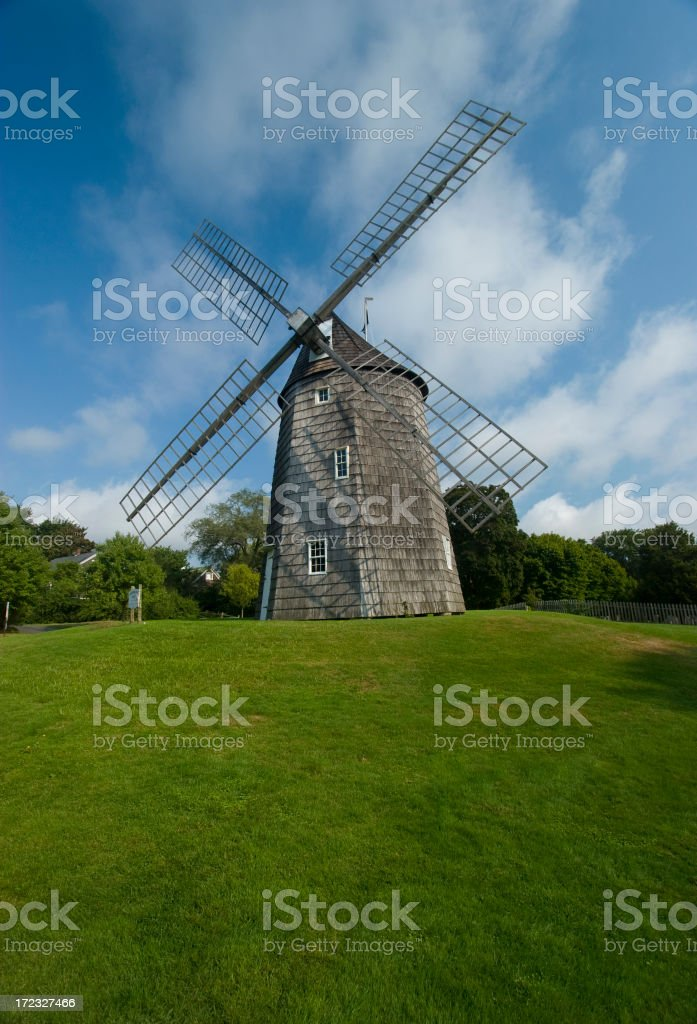 Old Hook Mill stock photo