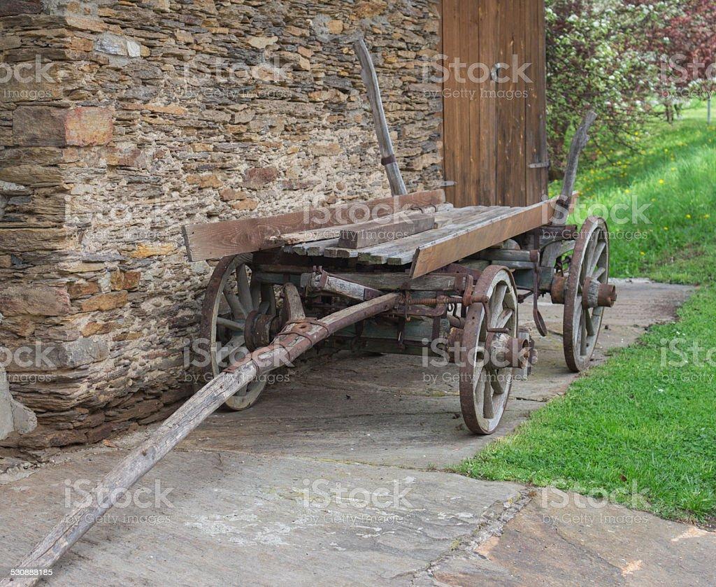 Alte horse cart – Foto