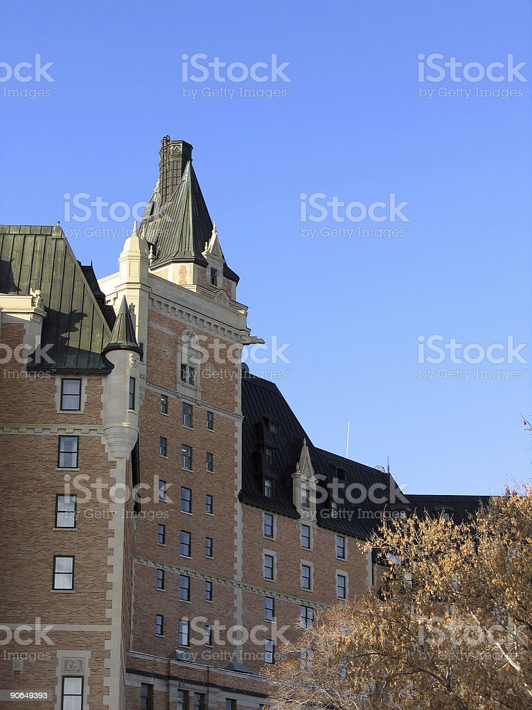 Old hotel royalty-free stock photo