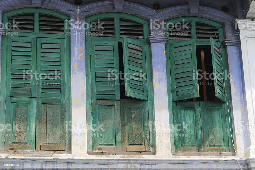 Old house facade royalty-free stock photo
