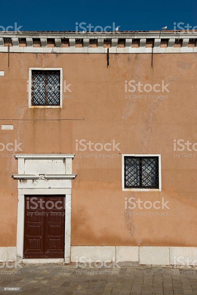 old house in venice royalty-free stock photo