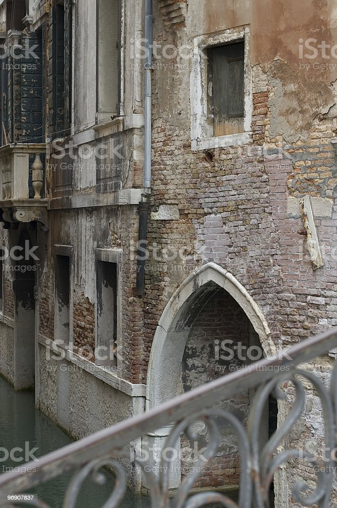 Old House of Venice royalty-free stock photo