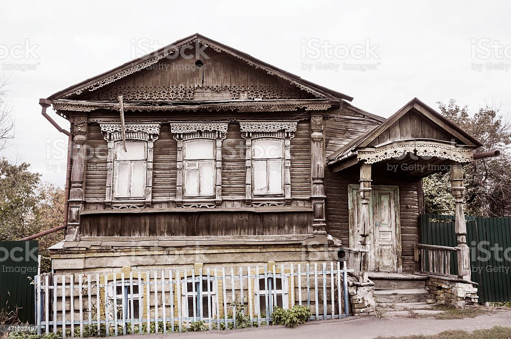 Old house. royalty-free stock photo