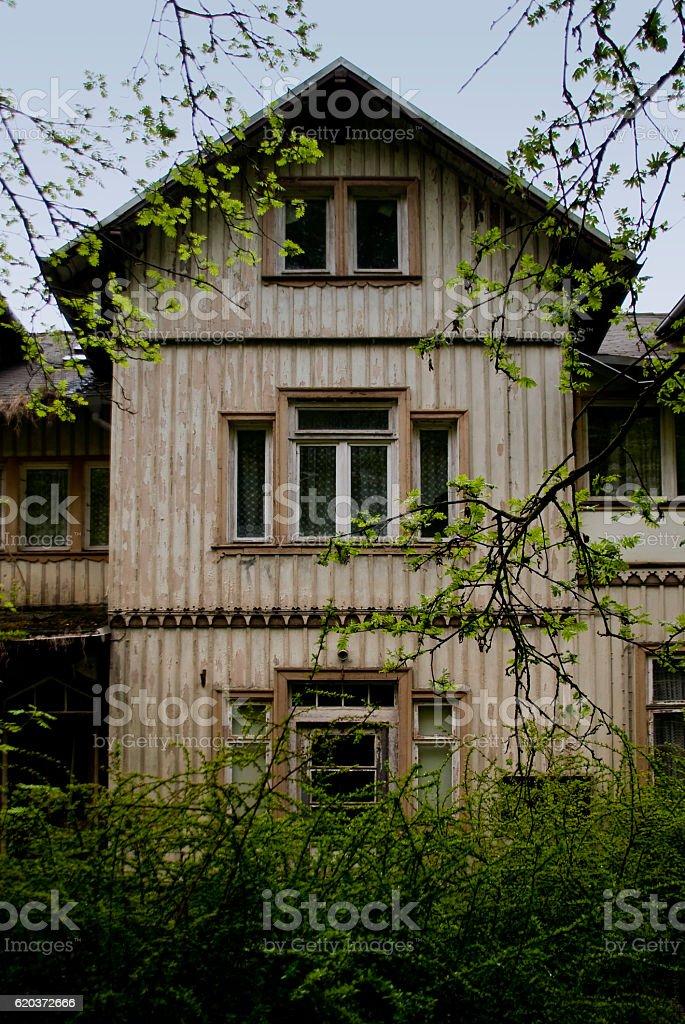 Antiga Casa foto de stock royalty-free