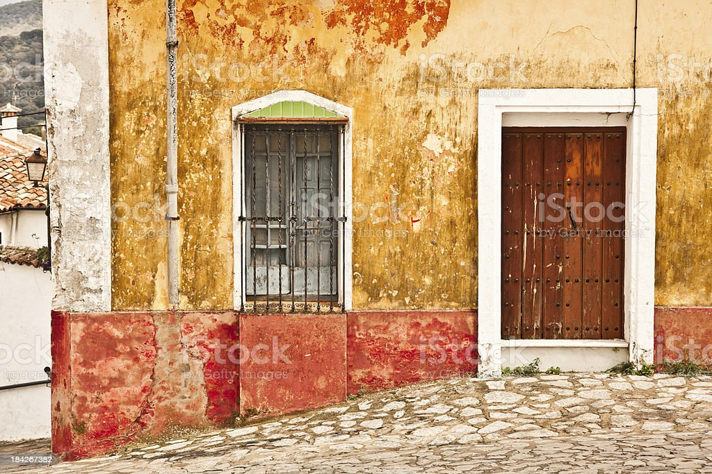 Old House, Spanish Architecture royalty-free stock photo