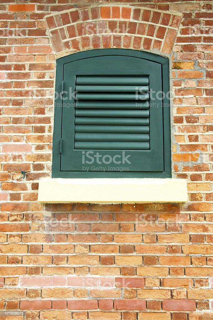 Old house window royalty-free stock photo