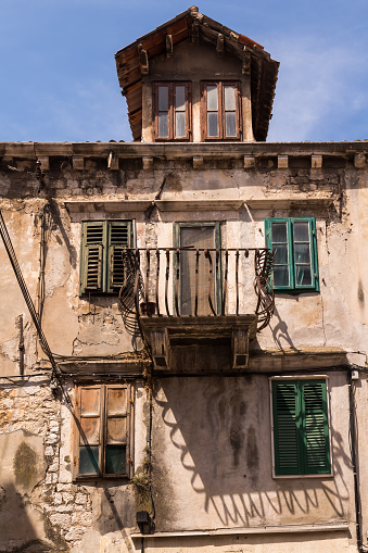 istock Old house with a balcony, Sibenik, Croatia 1170233010