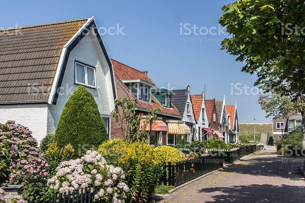 Old houses in Cocksdrop Netherlands foto
