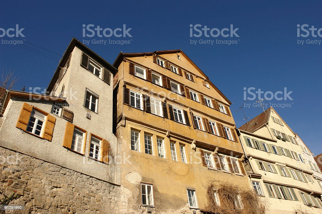 old houses royalty-free stock photo