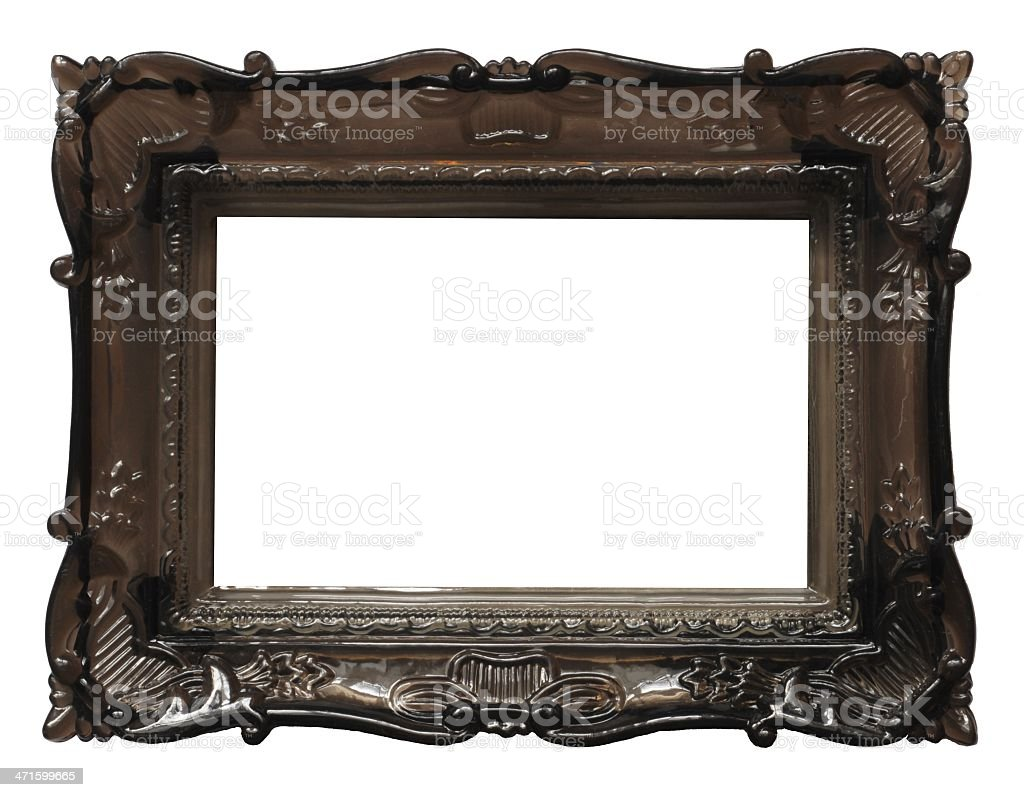 old image frame royalty-free stock photo