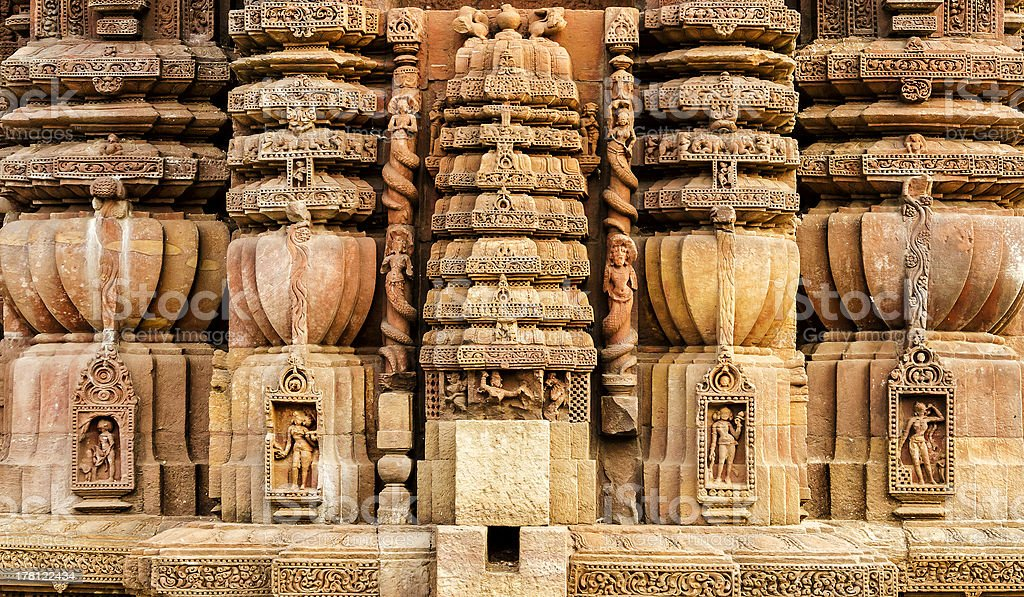 Old Indian Architecture - Royalty-free Ancient Stock Photo
